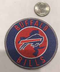 Buffalo Bills Classic Vintage Embroidered Iron On Patch 3x3 Nice