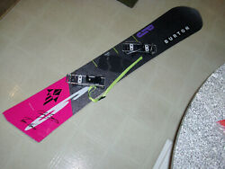 Collectable Very Rare Vintage Burton Snowboard P J 6 Autographed By Bauer/nerva