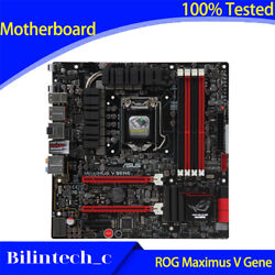 For Asus Rog Maximus V Gene Motherboard Support 3770k M5g Ddr3 32gb 1155pin Z77