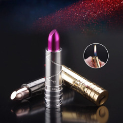 Creative Personality Metal Lighters Ladies Lipstick Styling Cigarette Lighter In