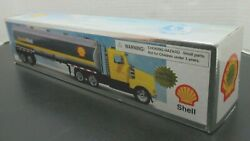 Formula Shell Oil Company Collector's Toy Fuel Tank Truck Model Vintage New Nib