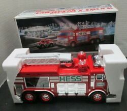 Hess Oil Company 2005 Emergency Truck With Rescue Vehicle Model-nib Lights Sound
