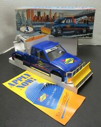 Sunoco Oil Company 1996 Tow Truck With Snow Plow -toy- Vintage Nib 3rd In Series