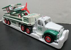 Hess Oil Company 2002 Toy Truck And Airplane - Model-vintage - New In Box-lights