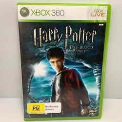 Harry Potter And The Half-blood + Manual - Xbox 360 - Free Tracked Post