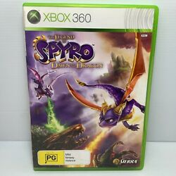 The Legend Of Spyro Dawn Of The Dragon + Manual - Xbox 360 - Free Tracked Post