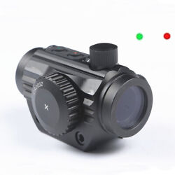 Tactical 1x22 Red Green 5 Moa Dot Scope Holographic Sight 20mm Picatinny Weaver