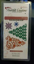 Heartfelt Creations - Swirly Christmas Trees And Snowflakes - Cut And Emboss Dies