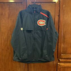 Montreal Canadiens Fanatics Brand Authentic Pro Rinkside Full-zip Jacket Large