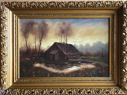 Vintage Landscape19 Th.c, By French Artist Dupre , Signed