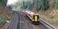 Photo South West Trains 159 Class Dmu 159 009 On The Up Fast Line At Farnboroug