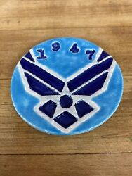 Hand Crafted Military Challenge Coins. Air Force Pride