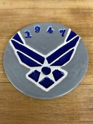 Hand Crafted Military Challenge Coins. Air Force Pride.