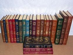 Easton Press Lifetime Ed. Roger Tory Peterson Field Guides Of The World 23 Vols