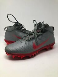 J.t. Barrett Game Used 2017 Ohio State Michigan Football Cleats Photo Matched