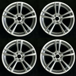 Set Of 4 20 Staggered Wheels For Bmw 5-series 7-series Oem Quality 71379 71380