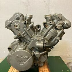 Ktm 950 Sm Supermoto Lc8 2008 Engine Motor Gearbox Assembly 15000 Miles Video