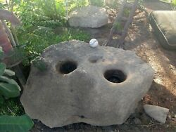 Indian Artifact Stone Mortar Grinding Stone Open To Trades Local Pickup 500lbs