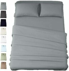American Cotton 600 Thread Count 2 Piece Sheets And 2 Piece Pillowcases Set - 10