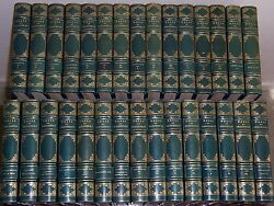 Estes And Lauriat Kensington Limited Ed. Works Of Thackeray 30 Vols No. 142/ 1000