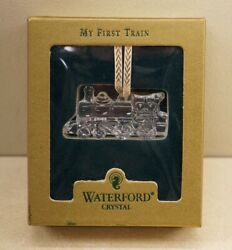 Waterford My First Train Crystal Christmas Ornament