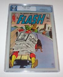 Flash 199 - Dc 1970 Bronze Age Issue - Pgx Vf+ 8.5 - Justice League Cameo