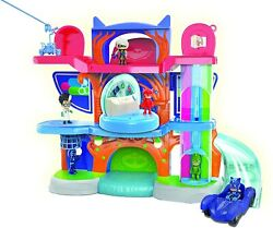 Pj Masks Deluxe Headquarters Playset Exclusive Kids Gift Play Set