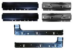 Front, Rear And Inner Rocker Kit For 99-16 Ford Super Duty Super Cab Pair