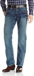 Ariat Menand039s M5 Slim Fitted Straight Leg Jean