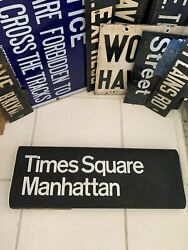 Nyc Subway Roll Sign 42nd Street Times Square Irt 1984 Manhattan Grand Central
