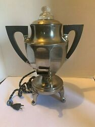 Hotpoint Vintage Coffee Percolator By Hotpoint Edison Electric Co 1930's