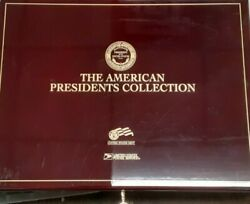 Usps Presidents Collection .999 Fine Silver/gold Plated Stamp/medal 50 Piece Set
