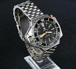 Diver Watch Steel Dive Ploprof V2 Automatic Nh35 1200mt - Stainless Steel 316l