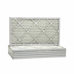 12x30x1 Dust And Pollen Merv 8 Replacement Ac Furnace Air Filter 6 Pack - Nib
