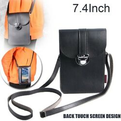 Crossbody Touch Screen Phone Wallet Purse Shoulder Small Bag Leather Pouch Case $10.28