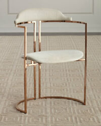 Windsor Smith For Arteriors Zephyr Cowhide Chair Horchow Neiman Marcus