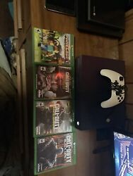 Xbox One S 1tb Console Good Condition With Call Of Duty Remote Purple Edition