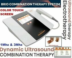 Brand New Electrotherapy + Ultrasound Therapy Device - Lcd Graphic Display Unit