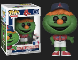Funko Pop Baseball MLB Mascots Boston Red Sox Wally The Green Monster Protector