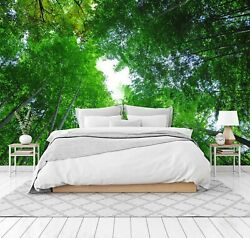 3d Green Forest 2859na Wallpaper Wall Mural Removable Self-adhesive Fay