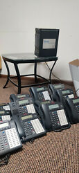 Esi Cs 100 Phone System With Power Supply And 12 48 Key Phones