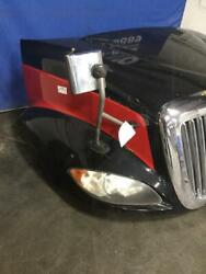 Black And Red 2012 International Prostar 113 Hood Assembly W/ Grille Headlamps