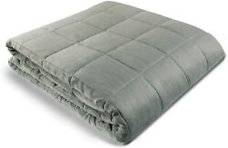 Weighted Blanket - 60 X 80 - 12-lbs - No Cover Required - Fits Queen/king Size