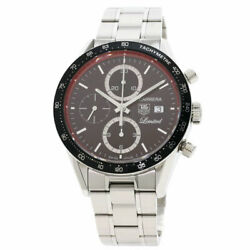 Tag Heuer Carrera Caliber 16 Limited 200 Watches Cv2019 Stainless Steel/stai...