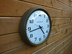 Vintage General Electric Wall Clock. Restored And Updated. Mid Century Americana