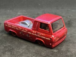 Hotwheels 60and039s Ford Econoline Pickup Custom Color 1/64 Shop Trucks Real Riders D