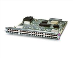 Used Cisco Ws-x6148e-ge-45at Cat6500 48-port Poe+ Switching Module