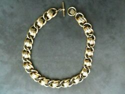 Anne Klein Gold Tone Necklace 17 Long