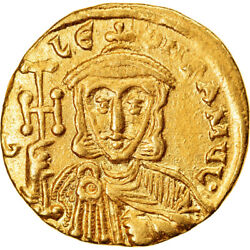 [894346] Coin Leo Iii Solidus 745-750 Constantinople Ms Gold Sear1550