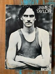 James Taylor Songbook 1971 Vintage Articles Guitar Piano Music Fire and Rain